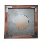 DSZ70х70 GR Зеркало квадратное Лофт Серое