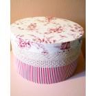 JBK01 декоративная круглая коробка для шляп с крышкой